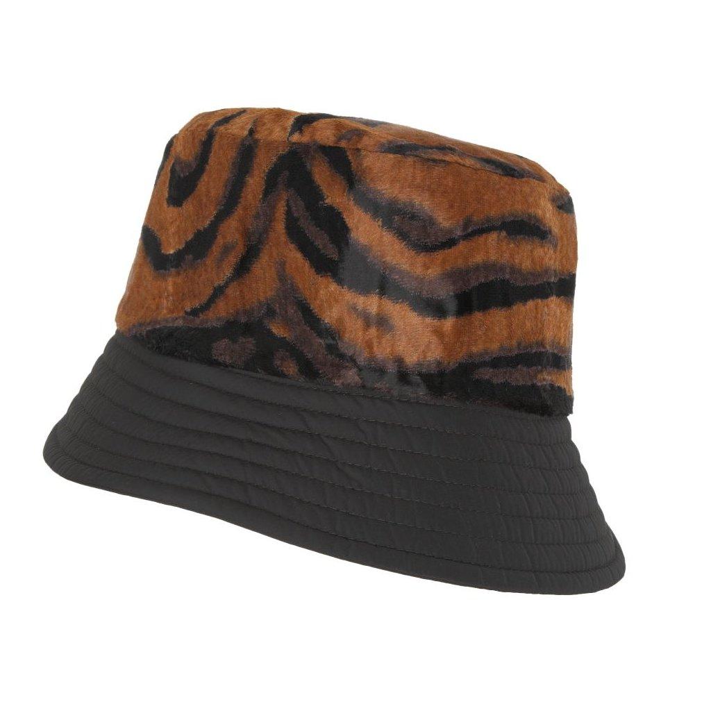 Dámský tygrovaný klobouk