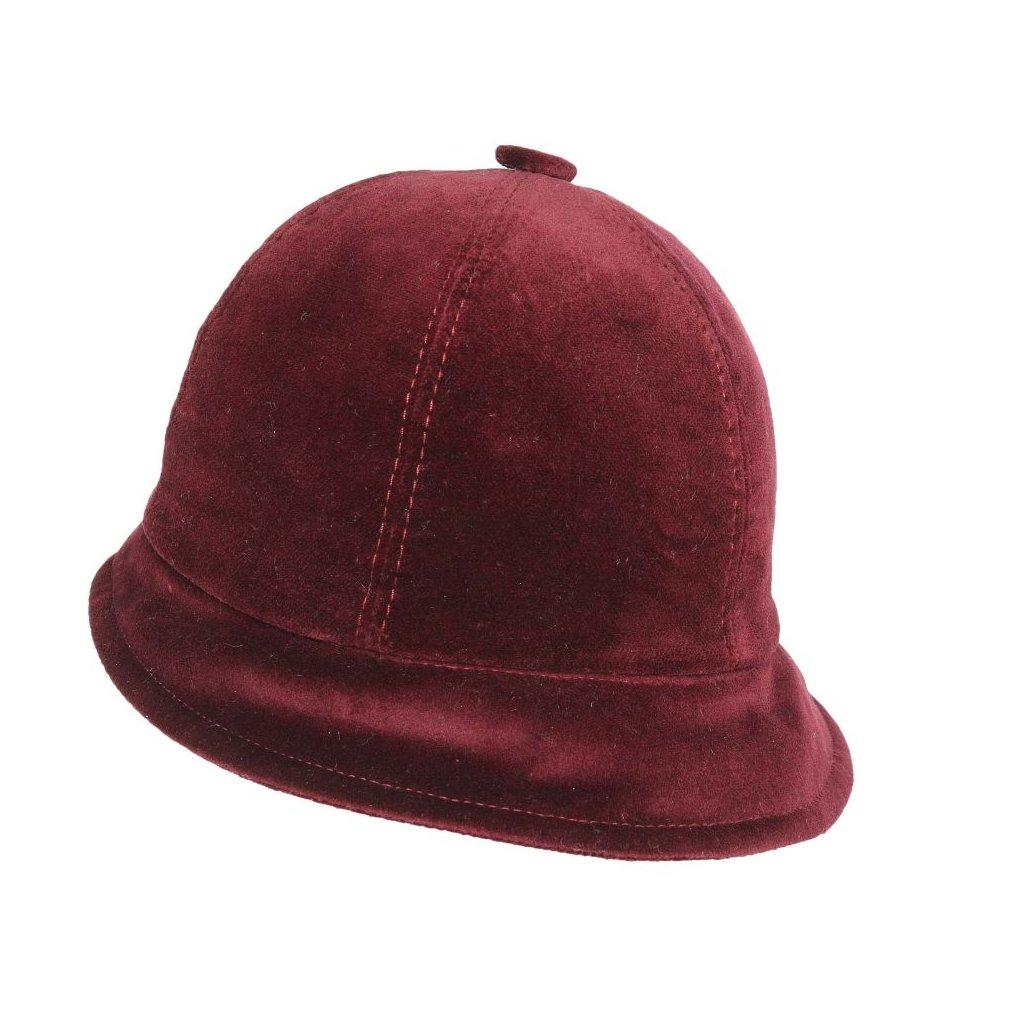 Dámský klobouk ze sametu