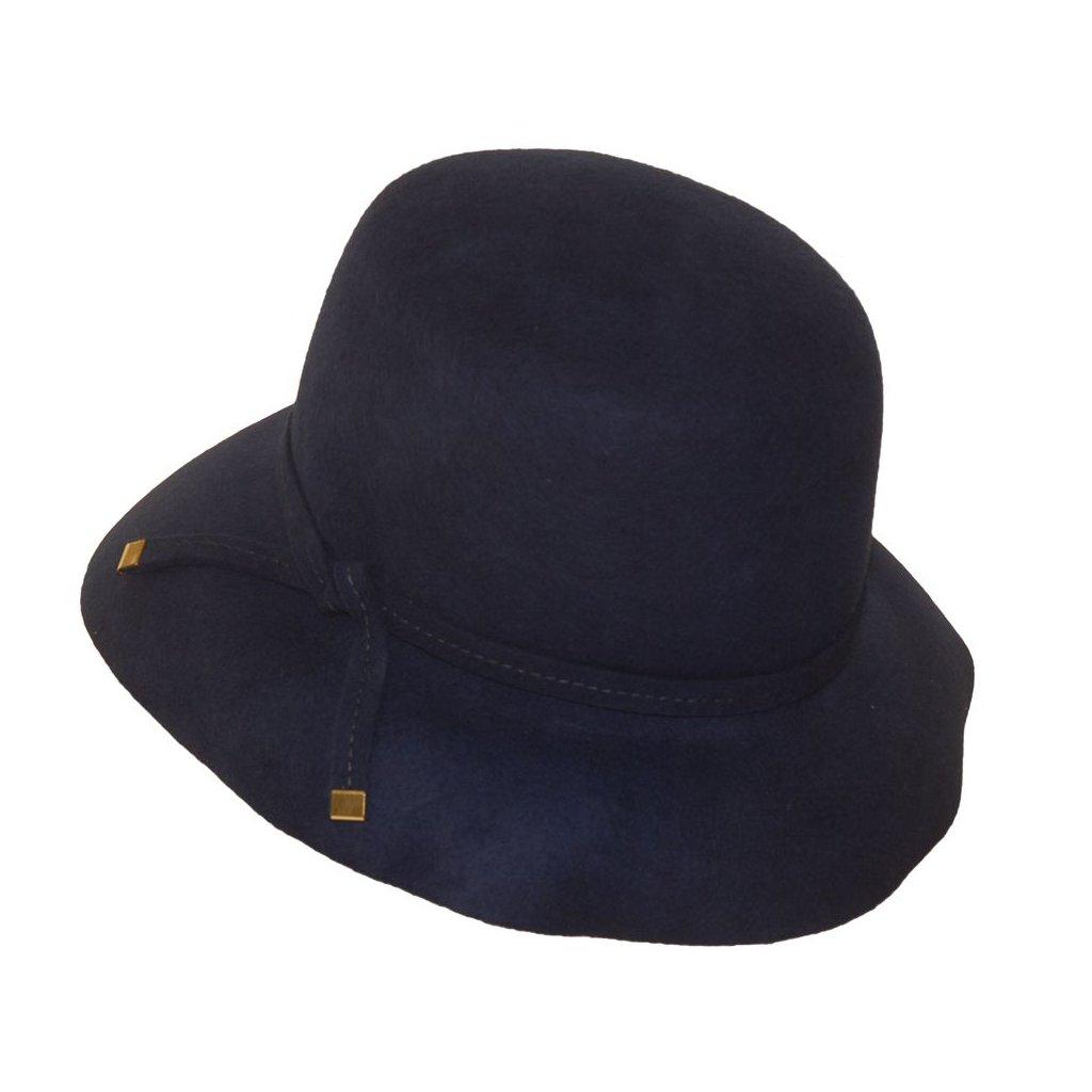 Dámský královky modrý klobouk