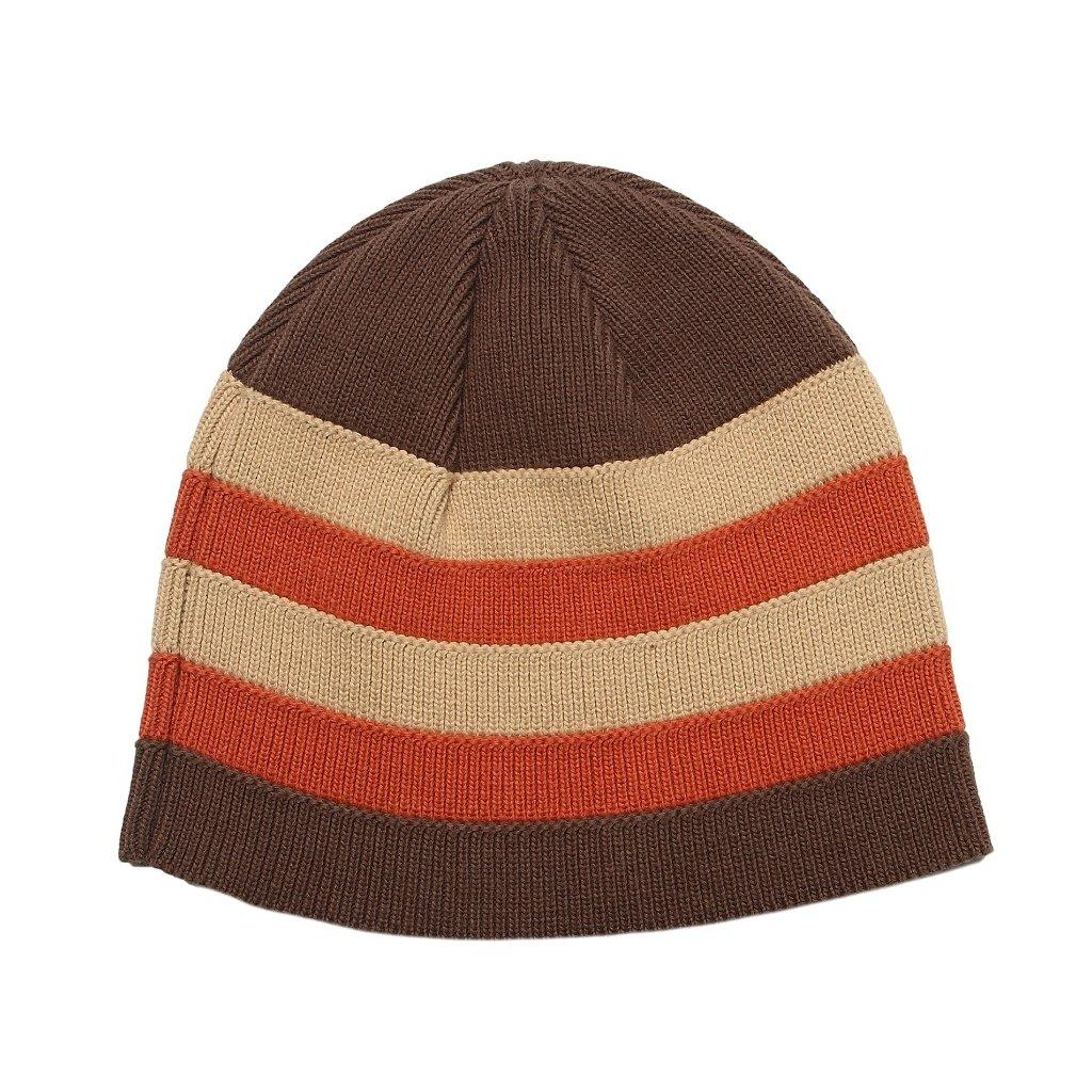 Čepice pletená-pruhovaná