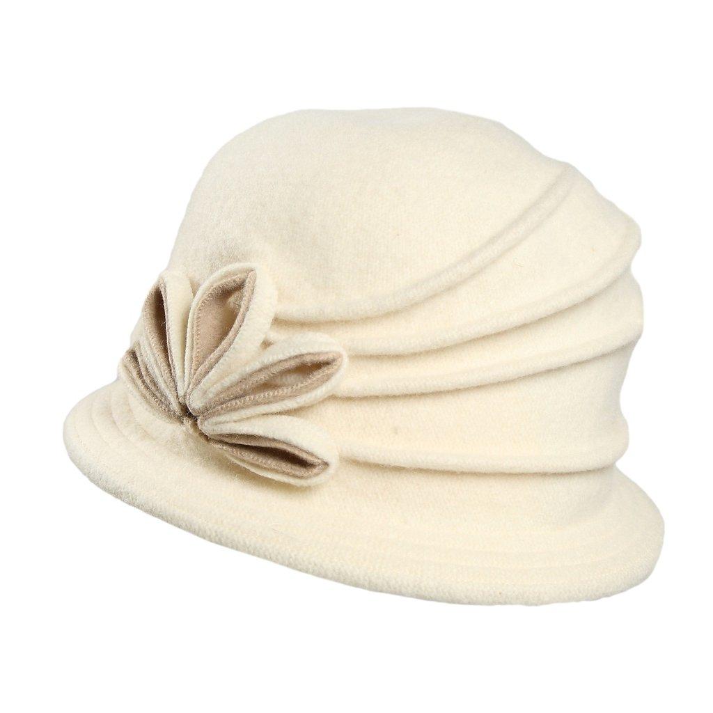 Dámský klobouk-krémová