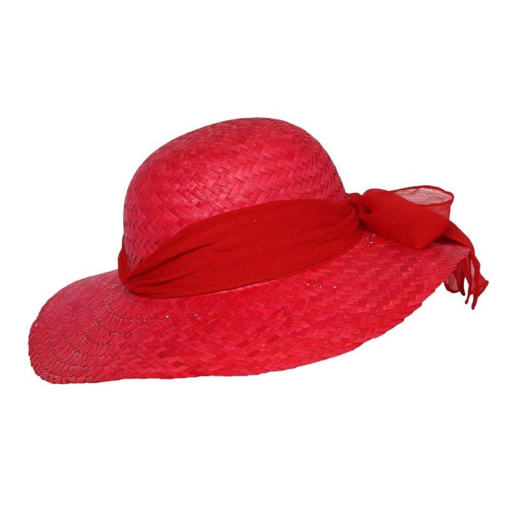 """Dámský letní slaměný kolobouk """"Brim hat"""""""