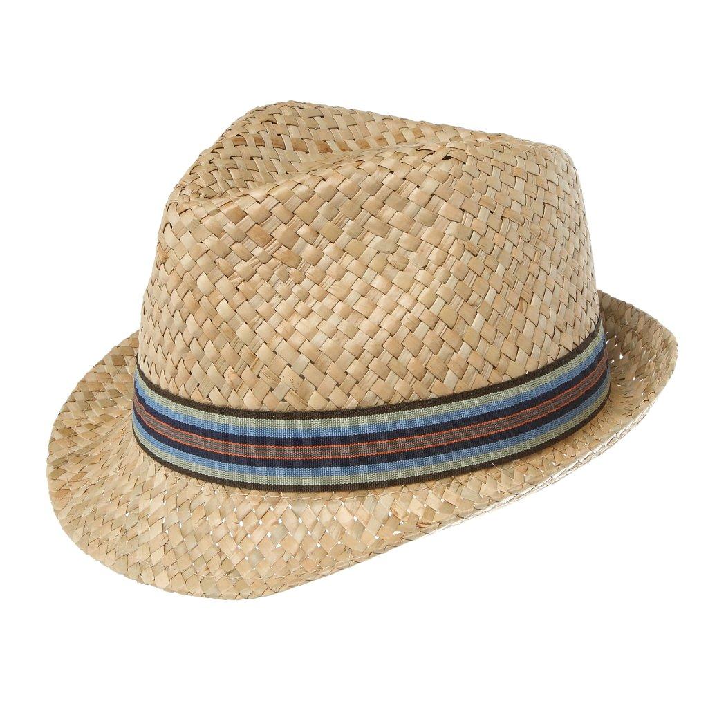 """Pánský letní slaměný klobouk """"Trilby"""""""