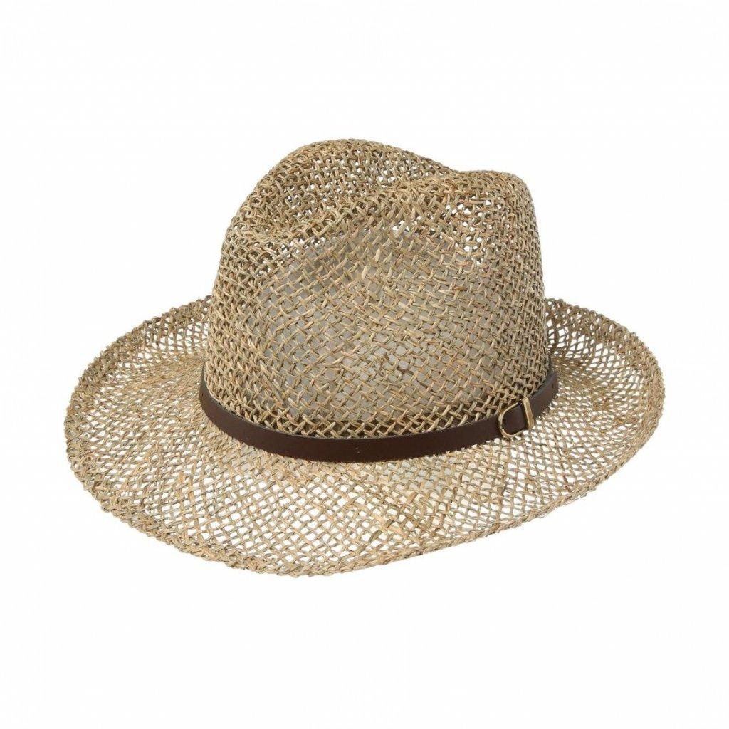 Pánský letní klobouk z mořské trávy
