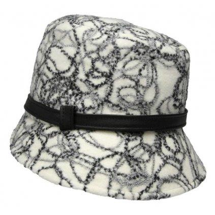 Dámský klobouk-kožený pásek