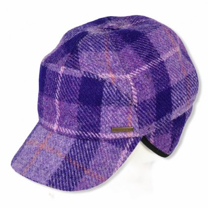 Pánská fialová kšiltovka
